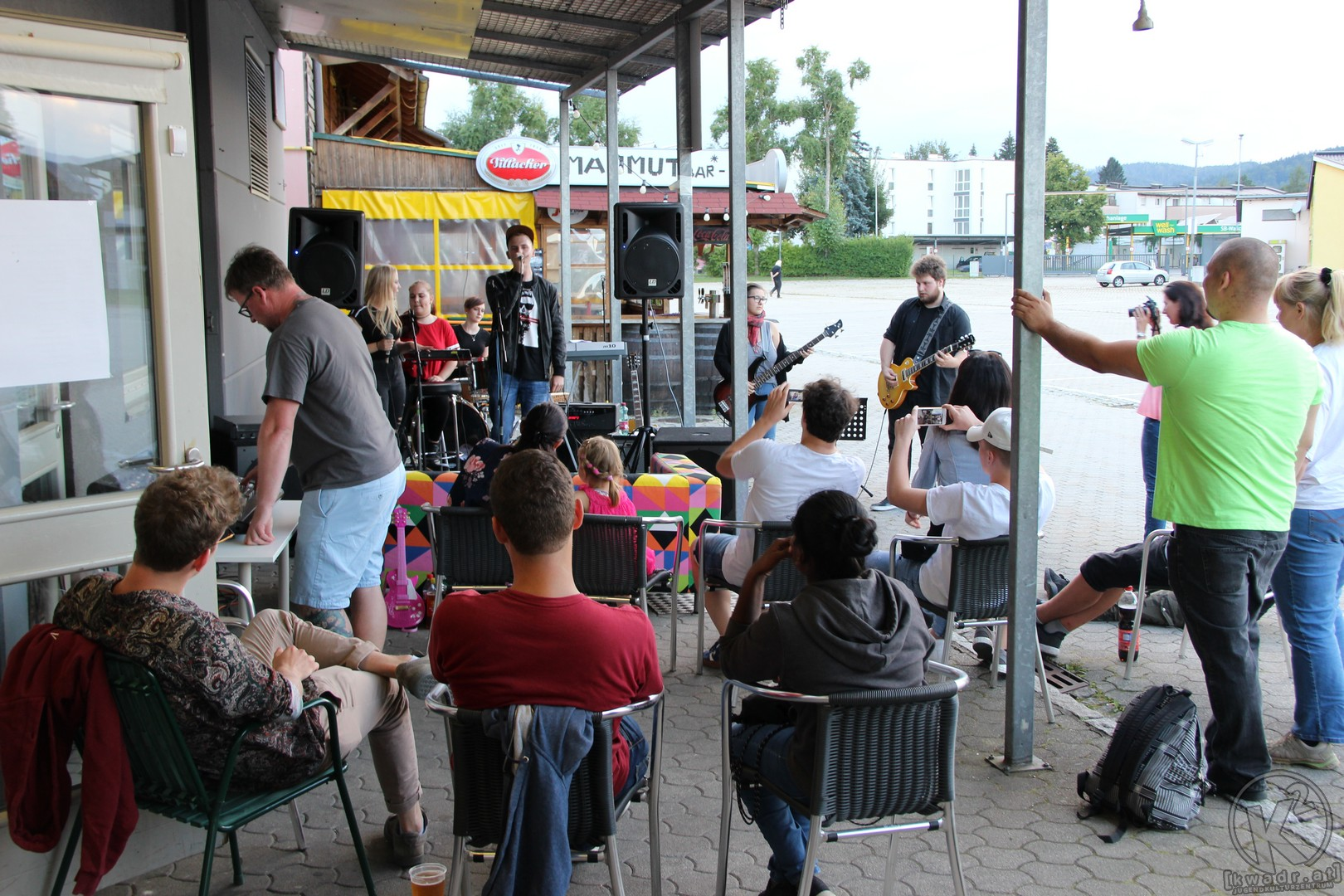 Outdoor Open Stage